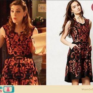 Anthropologie Yoana Baraschi Lace Paisley Dress 12